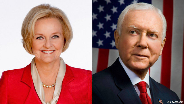 Sen. Claire McCaskill to Orrin Hatch: Your Tax Bill Is a Fraud