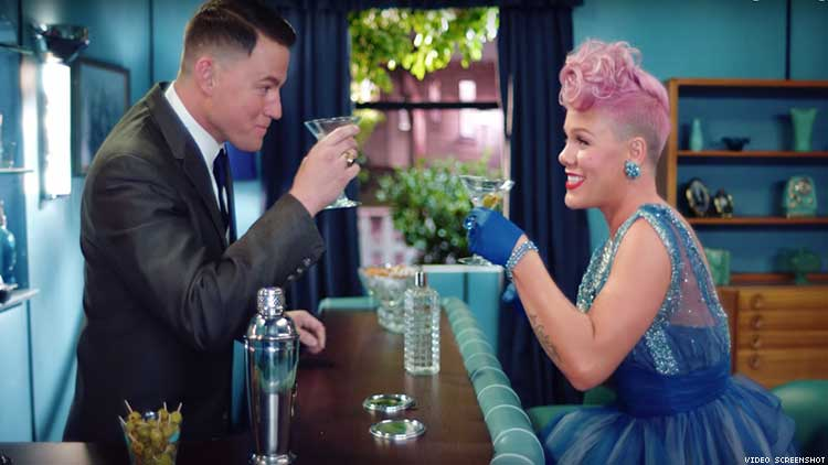 P!nk and Channing Tatum