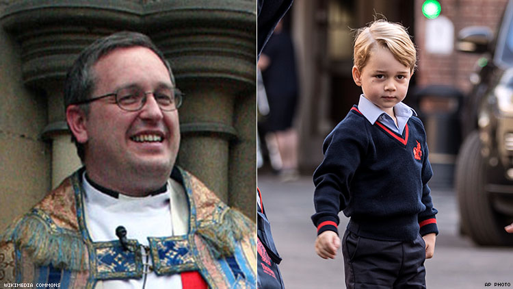 Pray that Prince George is gay, says church minister