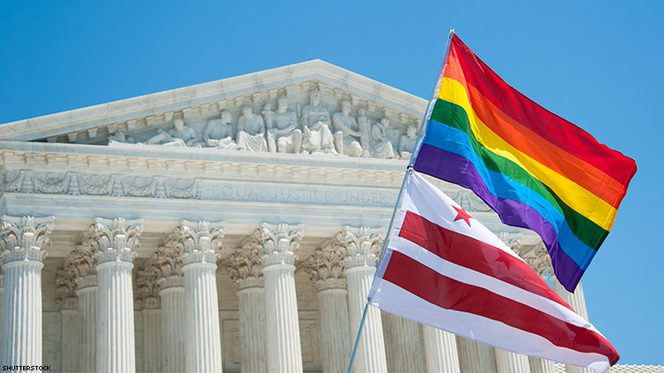 United States top court leaves in place Texas ruling questioning gay spousal benefits
