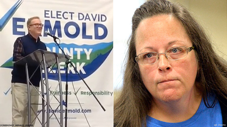 David Ermold and Kim Davis
