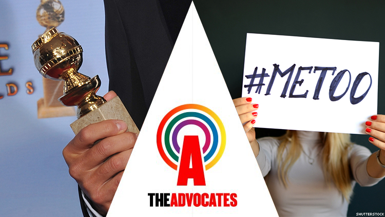 'The Advocates' Podcast: Golden Globes and #MeToo