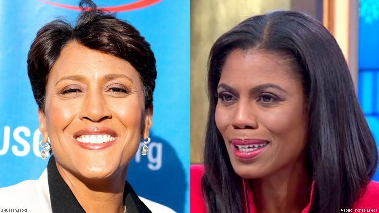 Robin Roberts Majorly Shades Omarosa For 'Selling' Story About Trump Administration