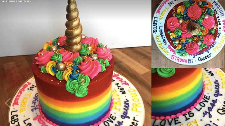 Gayest Cake Ever