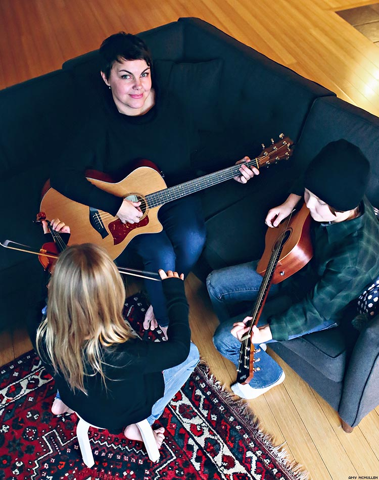 How This Musician's Kids Made Her Follow the Dream