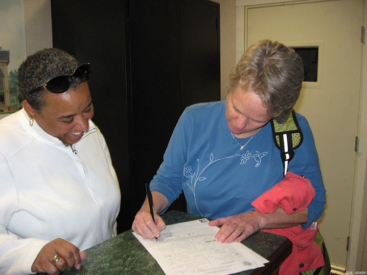 Chapter 15 Sue And Robin Signing Marriage Lic