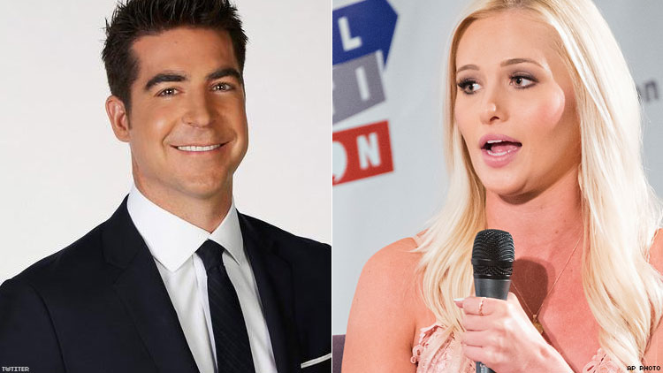 Jesse Watters and Tomi Lahren