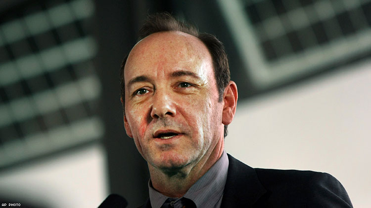 Kevin Spacey Allegedly Uttered Racial Slurs On
