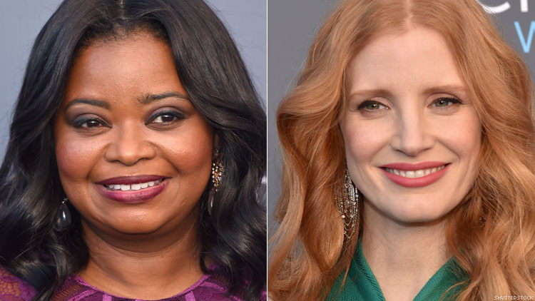 Octavia Spencer reveals Jessica Chastain helped her earn FIVE times her salary