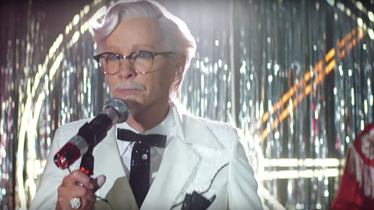 Reba 'Had a Blast' Shooting Commercials as Colonel Sanders for KFC