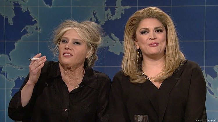 Deneuve and Bardot Roasted by Cecily Strong and Kate McKinnon
