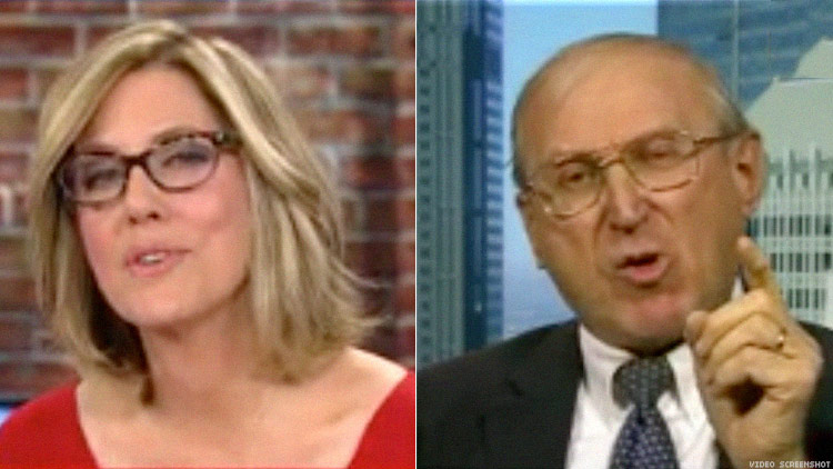 Alisyn Camerota and Arthur Jones