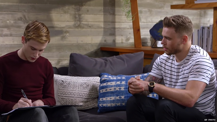 Hollywood Medium Tyler Henry Sits Down With Gus Kenworthy