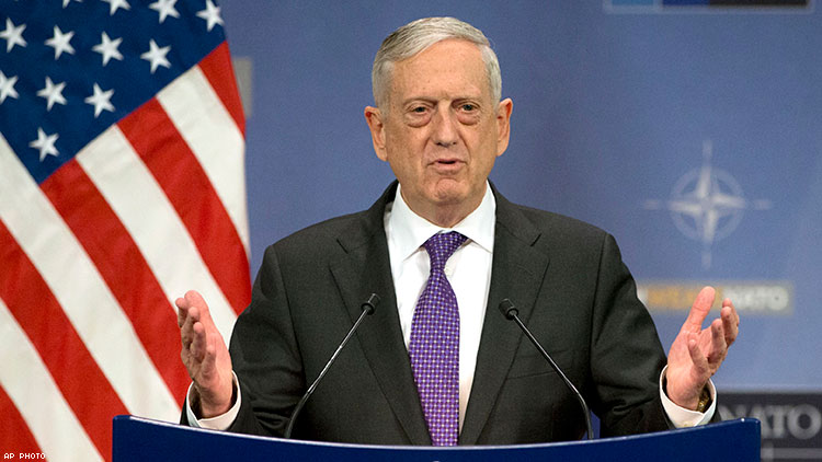 Pentagon expected to make recommendation on transgender troops this week