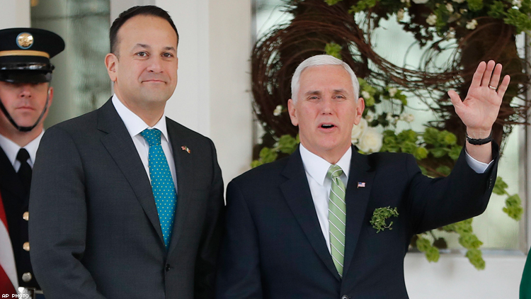 What Happened in the Meeting Between Mike Pence and the Gay Irish PM?