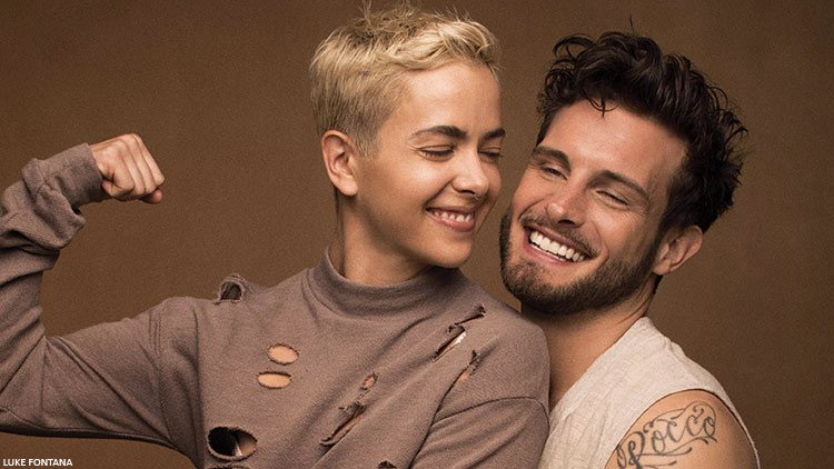 Nico Tortorella, Bethany Meyers Announce They're Married in Stunning Photos