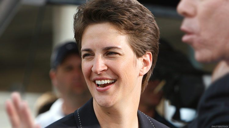 Maddow beats Hannity in March to become most-watched cable news host