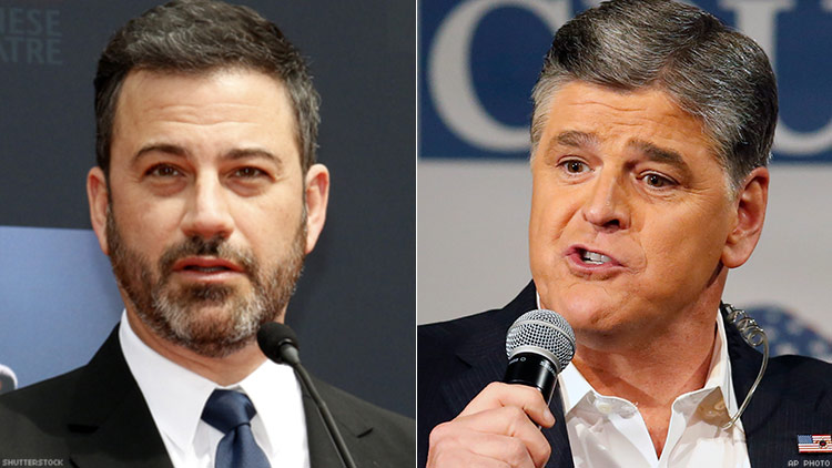 Sean Hannity Accepts Jimmy Kimmel's 'Forced' Apology For FLOTUS Jab