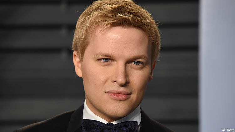 Ronan Farrow Comes Out, Speaks to 'The Advocate'