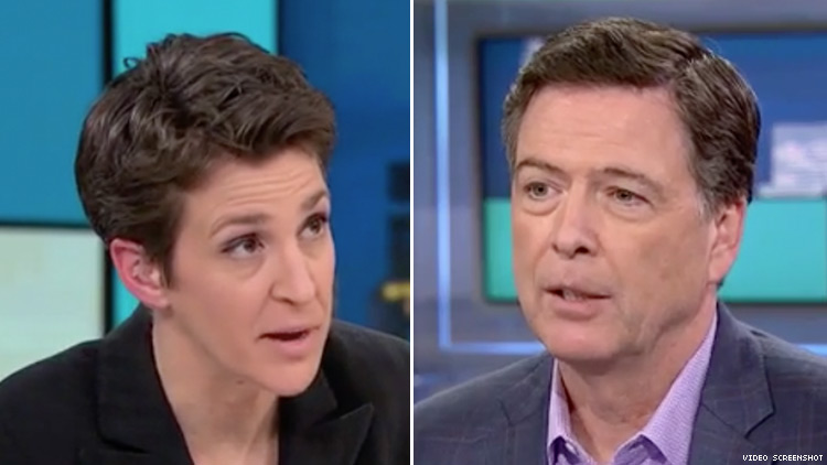 Maddow and Comey