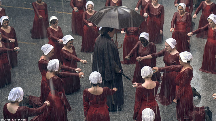 The Women of Gilead Rise Up in The Handmaid's Tale's Second Season