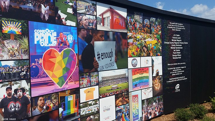 New Memorial at Pulse Nightclub Opens