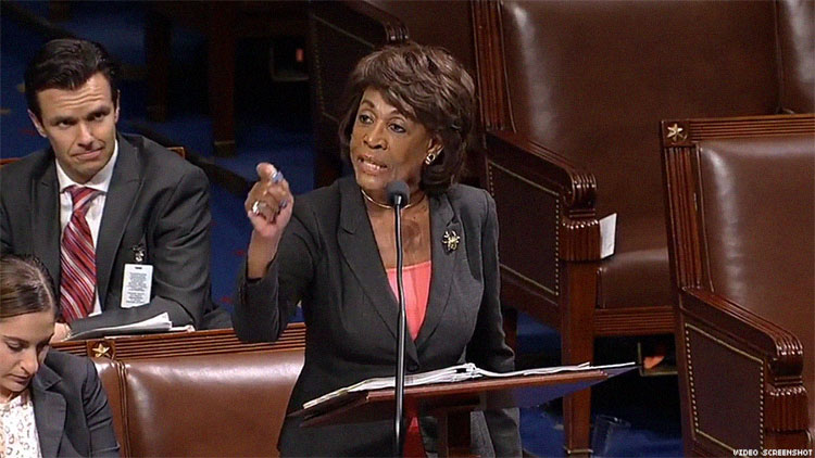 'Don't You Dare Talk to Me Like That': Maxine Waters Schools MAGA-Spouting Republican