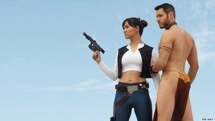Viral 'Hana Solo and Slave Leo' Want to Make Star Wars Queerer