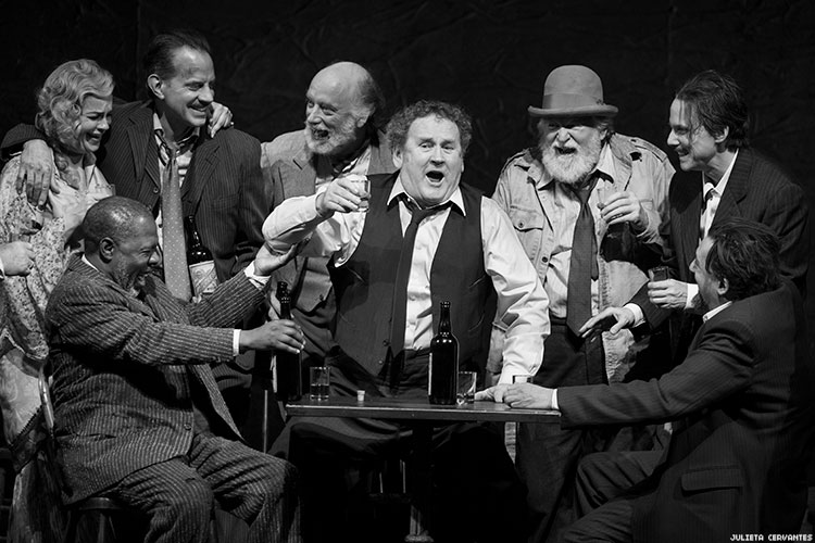 Colm Meaney And The Company Of The Iceman Cometh. Photo By Julieta Cervantes