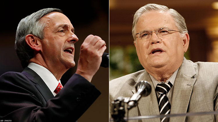 Robert Jeffress and John Hagee