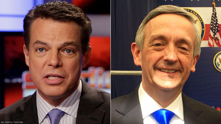 Shepard Smith and Robert Jeffress