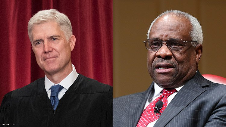Gorsuch and Thomas