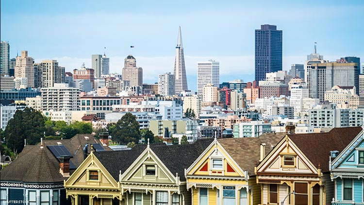 San Francisco's LGBT Population, and its Rent, Is Higher Than Ever