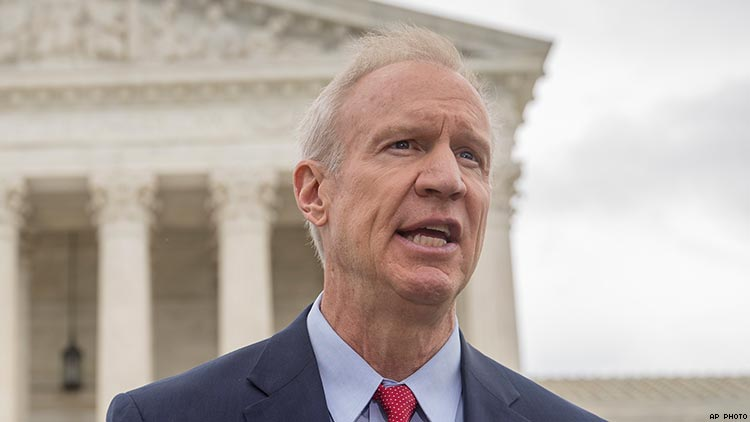 Illinois Republican Governor Officiates A Same Sex Wedding