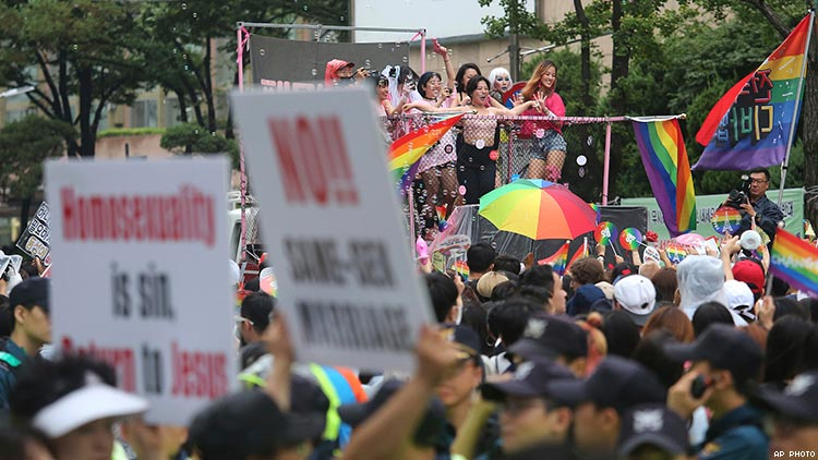 Over 210,000 Sign Petition to Cancel Seoul Pride