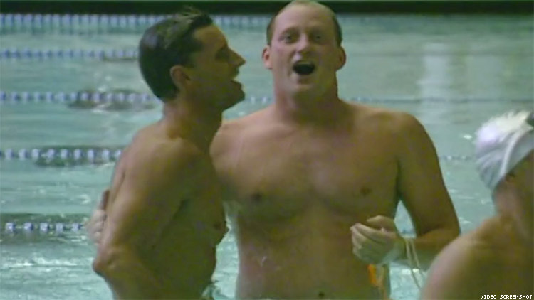 Watch A Gay Swimmer Break A World Record