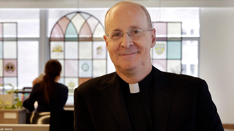 James Martin, pro-LGBT Jesuit priest