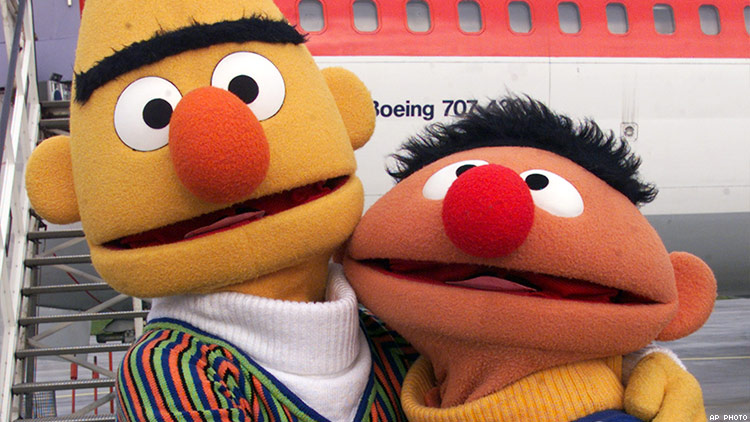 Bert and ernie homosexual relationship