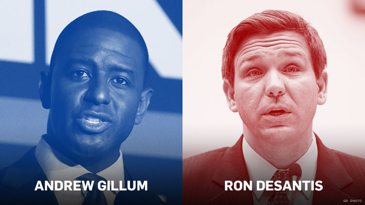 Image result for andrew gillum concedes