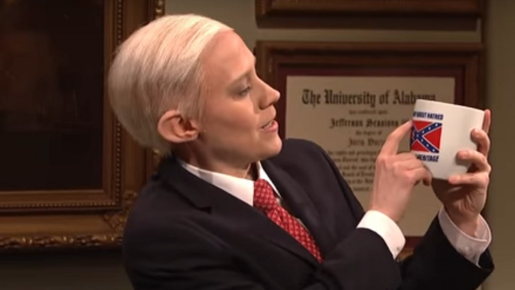 Ultimate Revenge: On SNL, a Gay Woman Humiliates Antigay Jeff Sessions