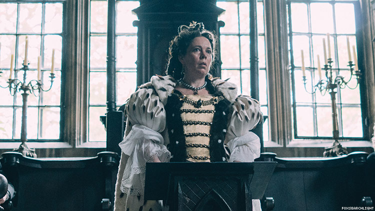 Olivia Colman Is at the Core of the Year's Best Feminist Love Triangle