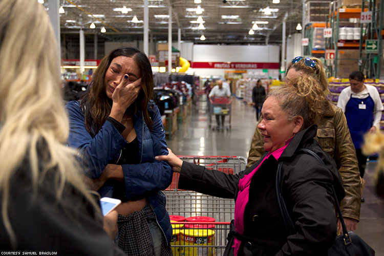 Yasmin Crying Costco