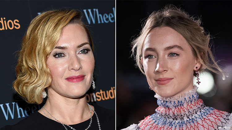 Saoirse Ronan & Kate Winslet to Play 19th-Century Lovers in 'Ammonite'