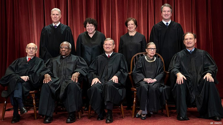Image result for SCOTUS 2019