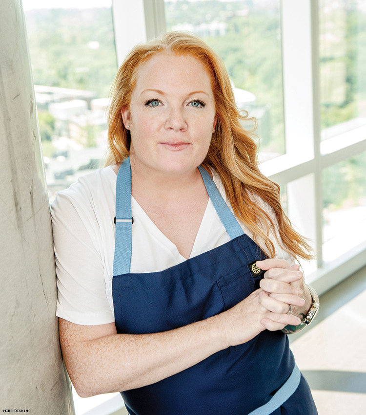 The East Coast's Preeminent Lesbian Chef Is on a Mission