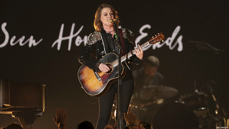 Brandi Carlile Wins Big at Grammys, Talks About Being a 'Misfit'