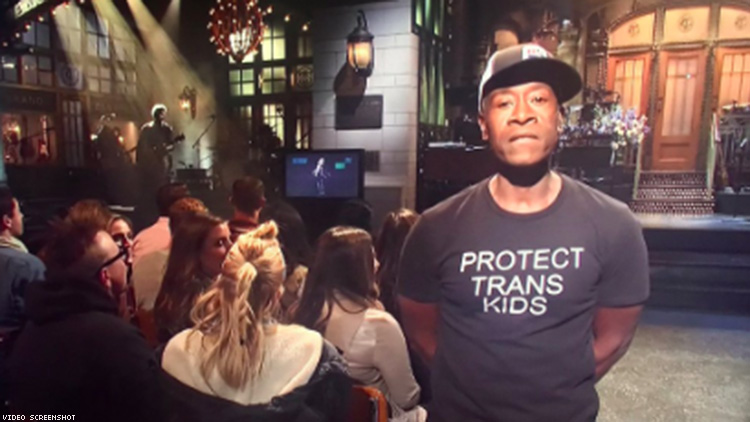 Don Cheadle Supports Trans Kids with Powerful Message on SNL