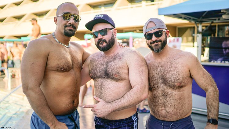101 Photos of Beautiful Bears Converging In Palm Springs