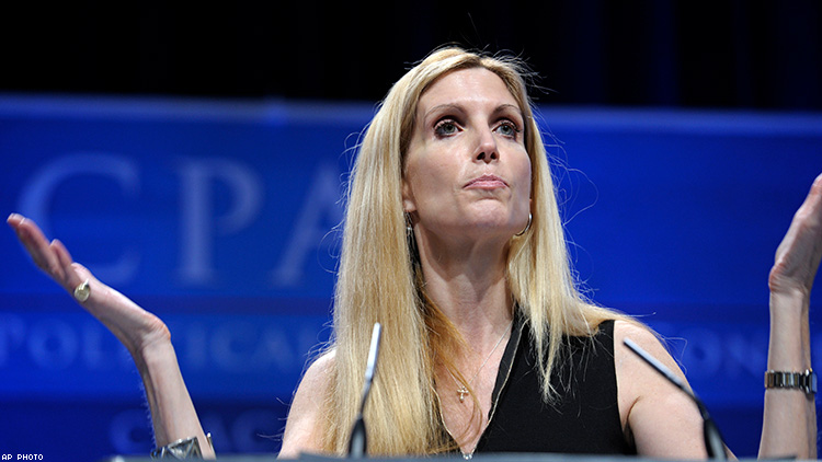 Ann Coulter Dragged for Saying All Hate Crimes Are Hoaxes
