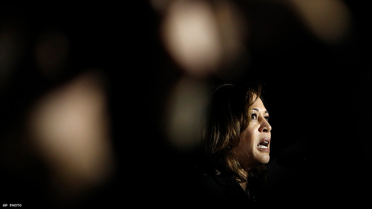 When It Comes to Sex Work, Kamala Harris Hasn't Completely